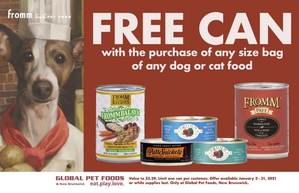 Fromm canned pet food
